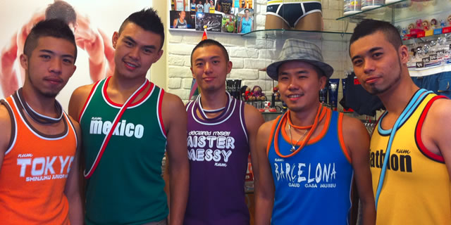 Otoko, located in the Red House district is the exclusive retailer from many of Asia's most famous swimwear brands.