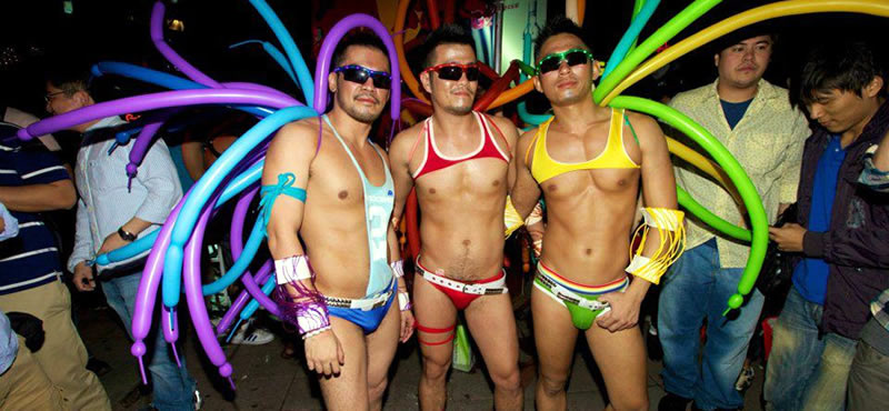 Shibuya Taipei gay bar