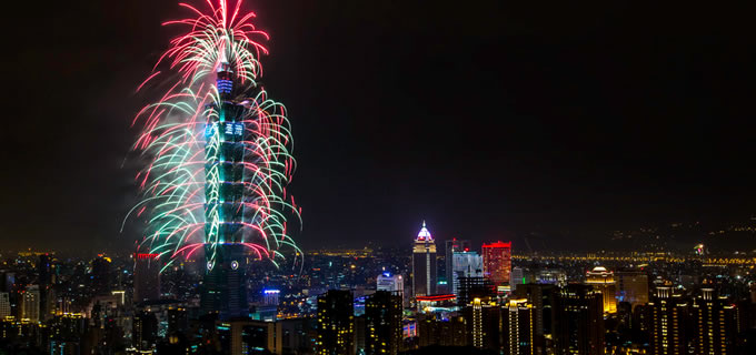 New Years Eve Taipei